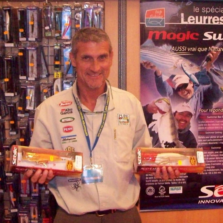 Salon Cagnes-sur-mer avec Jean-louis Pure Fishing