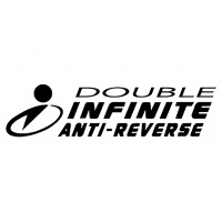 Logo de la technologie Double Infinite Anti-Reverse