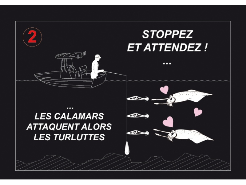 En stoppant l'animation, les calamars attaquent