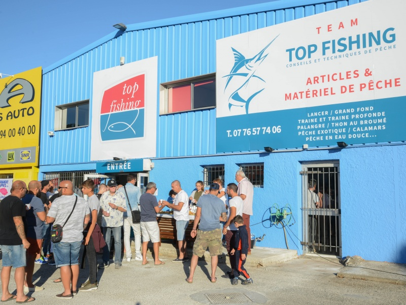 Inauguration du Magasin Top Fishing Var, le 2 septembre 2017