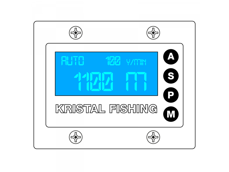 Ecran Super Digital Kristal Fishing