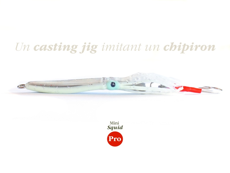 Un Casting Jig imitant un chipiron ? Voici le Mini Squid Pro
