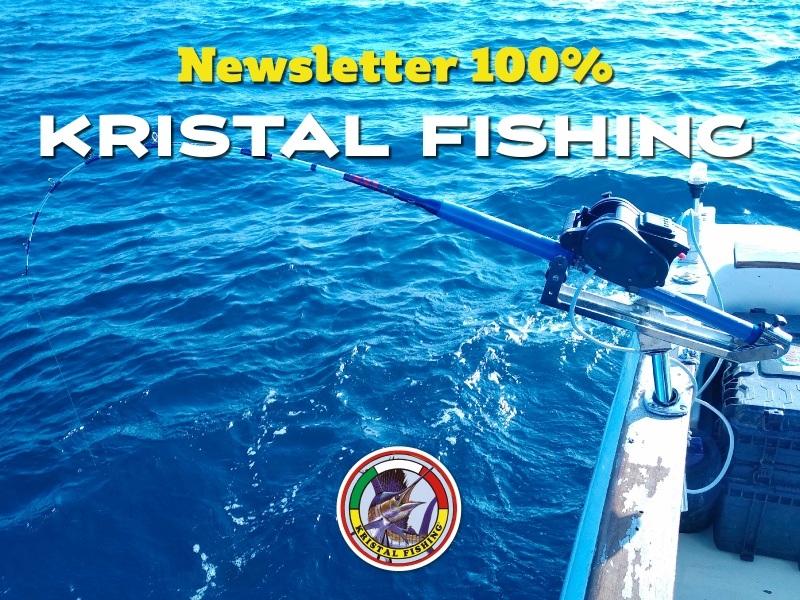 Newsletter 100% Kristal Fishing