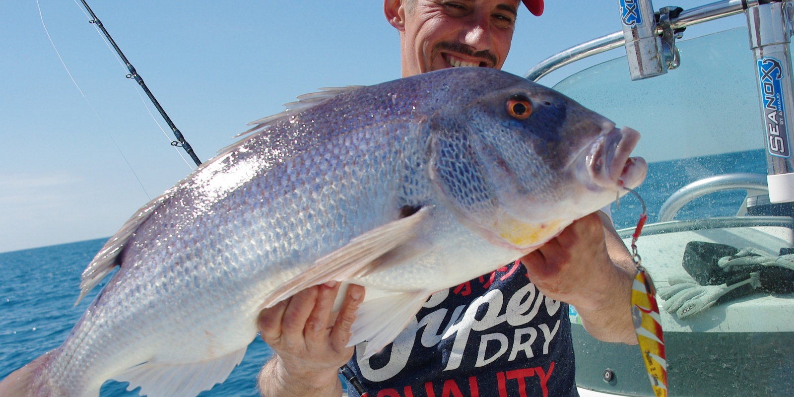 Denti 5,5 kg pris au Slow Jigging avril 2015
