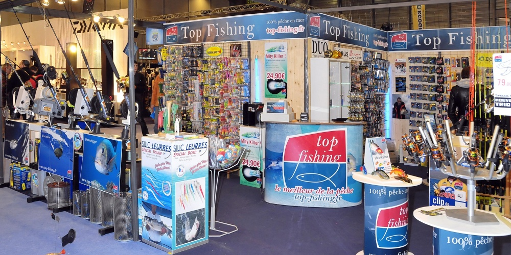 Stand Top Fishing au Salon de Nantes 2012