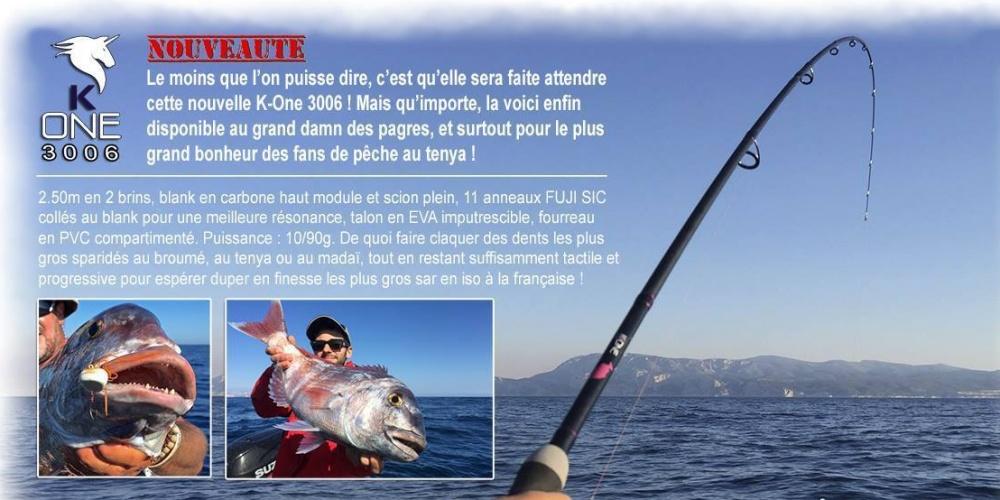 Annonce Pescanautic de la nouvelle K-One 3006