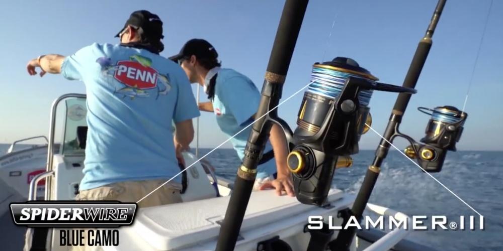Penn Slammer 3, lors d'une partie de pêche au thon