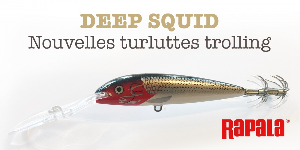 Annonce Deep Squid Rapala