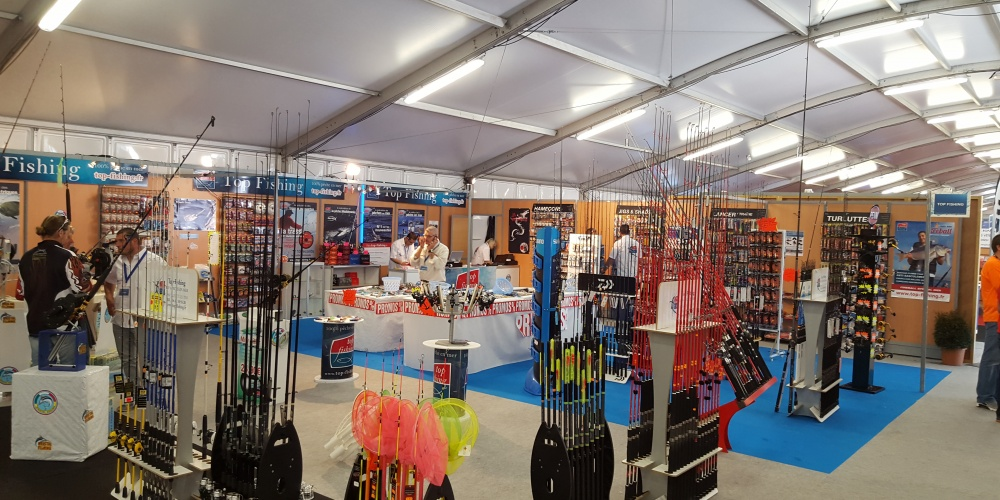Salon de Cagnes 2016, stand Top Fishing