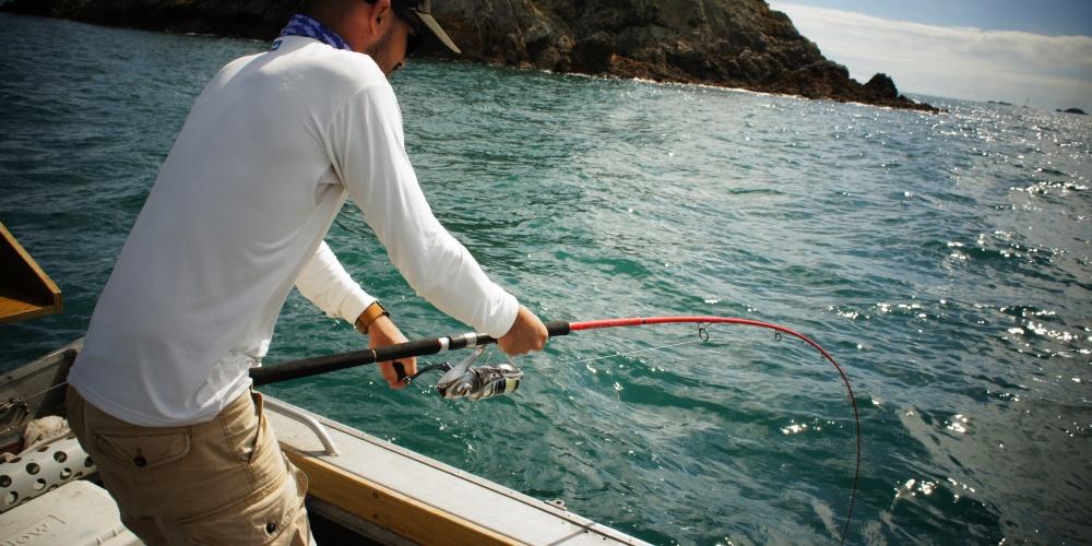 Francois Michon (Team Tenryu) en Nouvelle Zelande avec son Injection SP 73 Travel